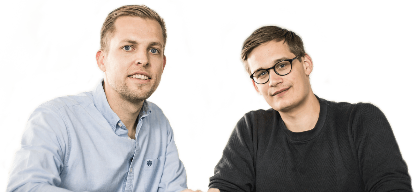 Bo and Emil, EasyPractice founders