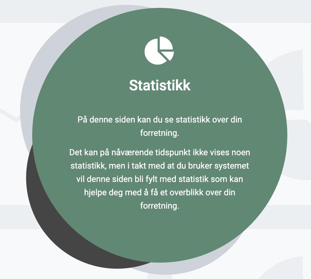 Statistikk-menyen til EasyPractice