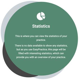 Statistics icon as on statistics page