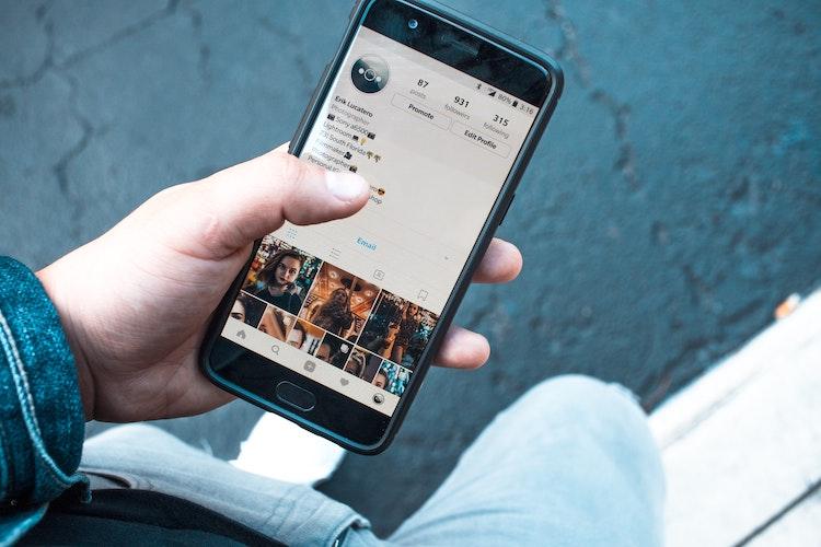 social media marketing on Instagram