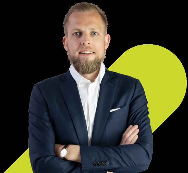 Bo Møller, grunnlegger av EasyPractice