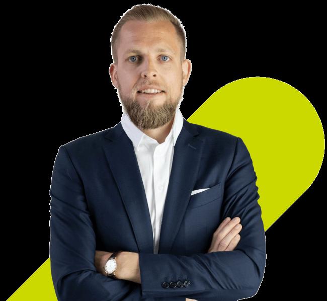 Bo Møller, a founder of EasyPractice